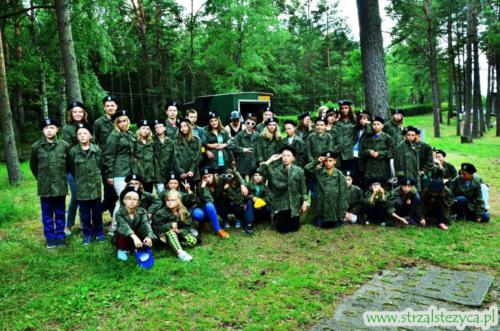 Obóz militarno-edukacyjny  Kormoran 2015